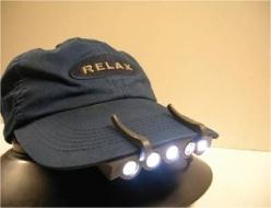 Clip LED Cap Light (902)