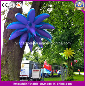 Night Club Outdoor Decorative Inflatable Party Flower with LED Light
