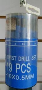 19PCS HSS Twist Drills Set
