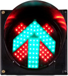 LED Traffic Signal Light (CD300-3-ZGSM-1) pictures & photos