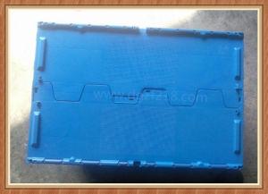 Burglarproof Plastic Logistic Storage Box with Lid for Warehouse