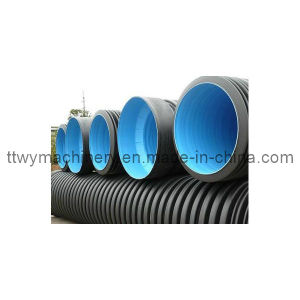 Plastic PE/PP Double Wall Spiral Corrugated Pipe Extrusion Machinery pictures & photos