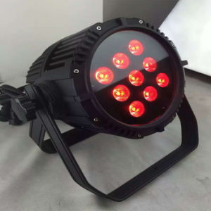 Waterproof 9PCS 10W RGBW 4in1 battery Operated Wireless DMX LED PAR Can for Outdoor pictures & photos