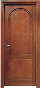 Wooden Door with Round Design (ED016) pictures & photos