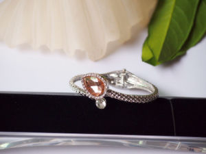 Simply Fashion Lovely Bracelet with Teardrop CZ Stones