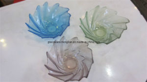 Solid Color Small Glass Bowl (W-13) pictures & photos