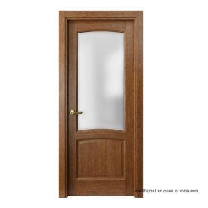 Walnut Brandy Vertical Solid Wood Bedroom Interior Doors pictures & photos