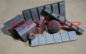 63HRC 700bhn White Iron Wear Choc Block pictures & photos