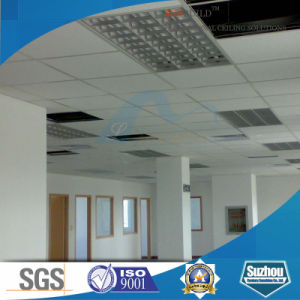 Acoustic Mineral Fiber Ceiling Tile/Mineral Fiber Ceiling (ISO, SGS certificated) pictures & photos