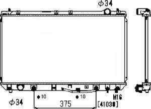 Auto Radiator (2299)