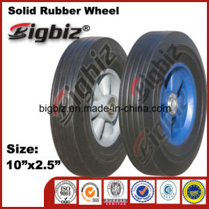 High Quality 2.5 Inch Suitcase Push Cart Rubber Wheel pictures & photos