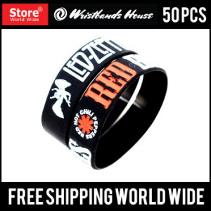 3/4inch Cheap Custom Any Color Silicone Wristbands pictures & photos