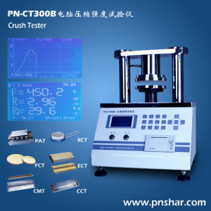Corrugated Paperboard Crush Tester pictures & photos