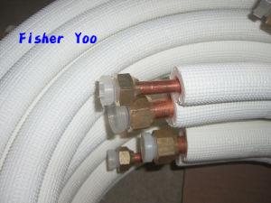 Air Conditioner Insulated Aluminium Copper Conjuction Tube pictures & photos