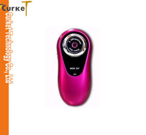 Mini DV Camera Video (MD3) 2.0mega Pixels with TF Card Slit Digital Video Recorder