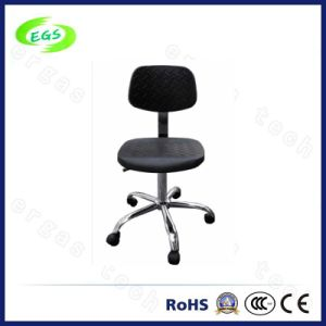 High Quality ESD Adjustable PU Leather Laboratory Chair pictures & photos