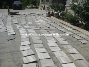 China Grey Wood Vein Marble for Wall and Floor Tile pictures & photos