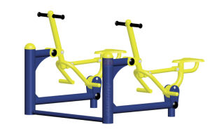 Double-Units Bonny Rider Outdoor Fitness Equipment pictures & photos