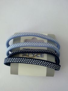 Polka DOT Hair Elastics (BLH20148113) pictures & photos