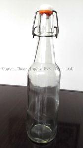 330ml Glass Beer Bottle Flint Color (PJ330-001F) pictures & photos