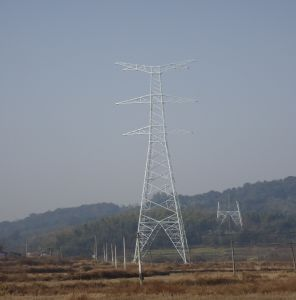 220kv Transmission Angle Steel Tower