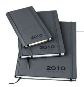 High Quality Hard Cover Leather Notebook with Elastic Closure (YY-N0121) pictures & photos