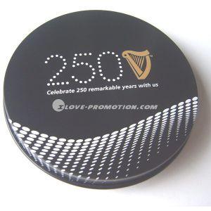 Cork Coaster / Cork Cup Mat in Tin Box - 3