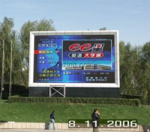 LED Display Outdoor Full Color (P16mm DIP)