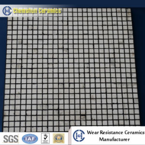 Rubber Backed Ceramic Wear Resistance Tile pictures & photos