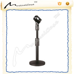 Height Adjustable and Lron Construction Microphone Stand pictures & photos