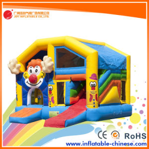 2017 Regular Attraction Inflatable Clown Jumping Bouncy Slide (T4-609) pictures & photos