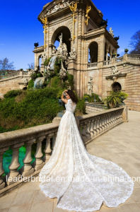 2017 Mariee Bridal Gowns Detachable Lace Train Wedding Dresses GB19 pictures & photos