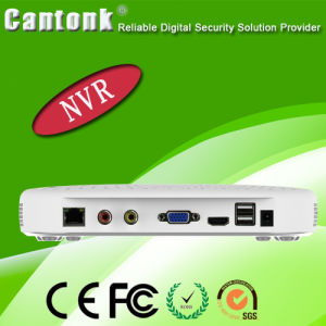 Hot H. 264 4CH HD NVR with Poe (Hi3520D) pictures & photos