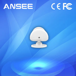 Wireless PIR Sensor Detector, Interconnectable with IP Camera pictures & photos