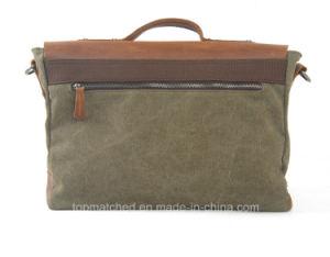 Quality Ensured Canvas Unisex Vintage Handbag Man / Laptop Messenger Shoulder Bag Men for Adults Daily Life Bag pictures & photos