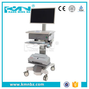 Doctors′ Ward Inspection Computer Workstation Cart