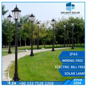 30W LED Garden Gate Light by Solar Panel Outdoor Light pictures & photos