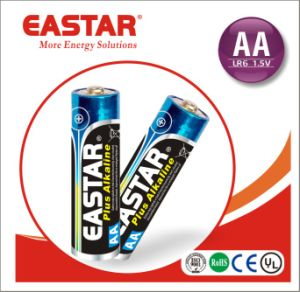 Alkaline Dry Battery Lr6 1.5V AAA Rechargeable Battery pictures & photos