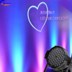 PRO DMX RGB 3in1 54PCS*3W LED Stage PAR Can Light with Good Dimming&Multi Color