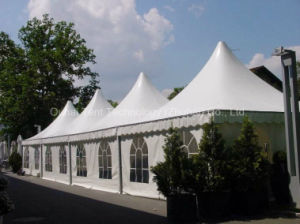 5X5m Pagoda Tent with Clear Church Windows