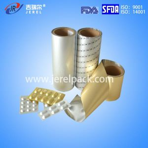 Pharmaceutical 155 Micron Cold Forming Alu Alu Foil with ISO Certificate pictures & photos