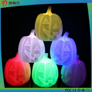 Promotion Cheaper Pumpkin LED Candle Light pictures & photos