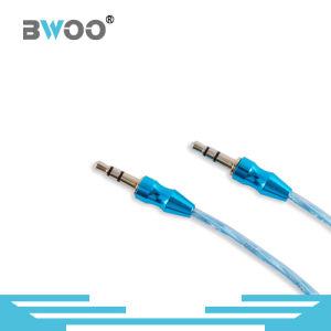 Factory Wholesale Colorful Aux Cable 3.5mm Connector pictures & photos