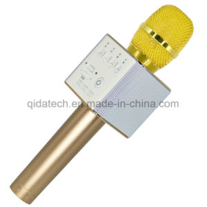 2017 Wholesale Mobile Phone Wireless Bluetooth Q9 Karaoke Microphone pictures & photos