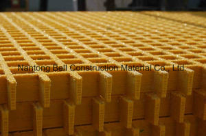 Fiberglass Reinforced Plastics Grating, FRP Grating, Anti-Slip Panel, Walkay, Platform. pictures & photos