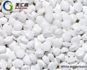 High Quality White Masterbatch for Injection (manufacturer) pictures & photos