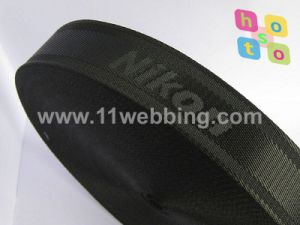 Factory Custom High Strength Fake Nylon Jacquard Webbing for Bag Accessories pictures & photos