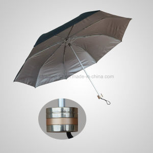 3 Fold Manual Big Size Sun Umbrella Fashion Protection Umbrella (JF-MMO307) pictures & photos