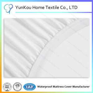Elastic Fitted Sheet Style Waterproof Mattress Cover pictures & photos