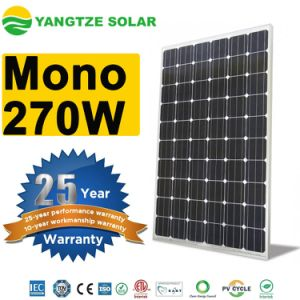 Monocrystalline 270W 280W High Efficiency PV Solar Panels Residential pictures & photos